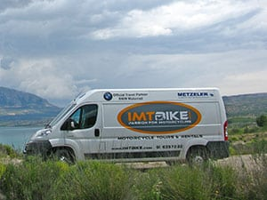 IMTBike Support Vehicle