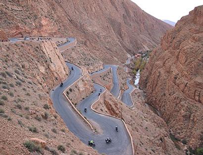 Boumalne Dades  - Todra Canyon - Erfoud