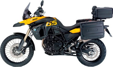 Rent the BMW F800GS from IMTBike