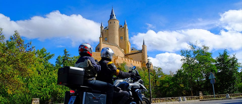 Castles and Mountains Motorcycle Tour Spain