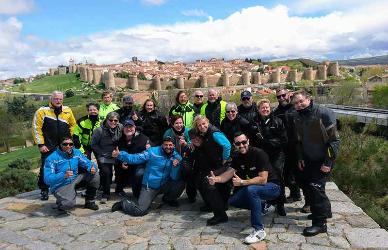 IMTBIKE Motorcycle tour castles & mountains central spain tour