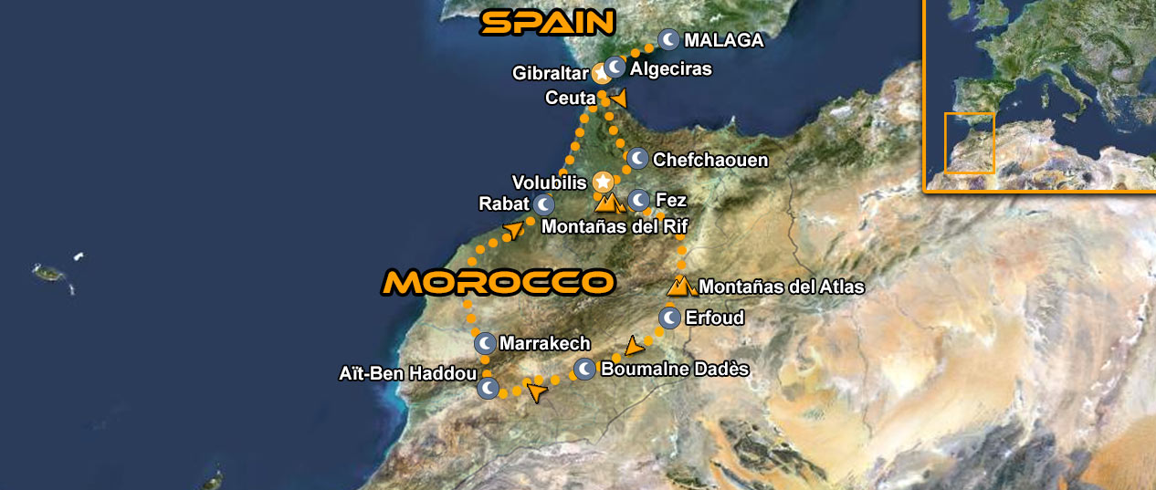 IMTBIKE Motorcycle tour Magical Morocco