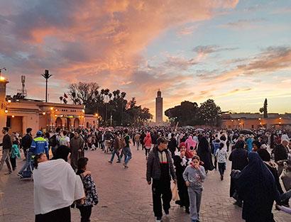 Marrakesch - Rasttag