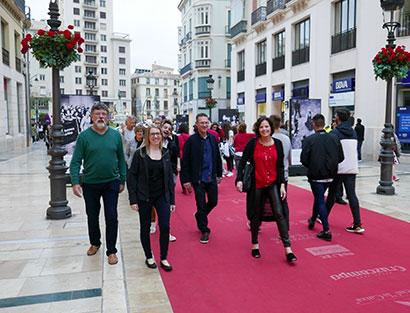 Ankunft in Málaga – Sicherheitseinweisung - Welcome-Dinner
