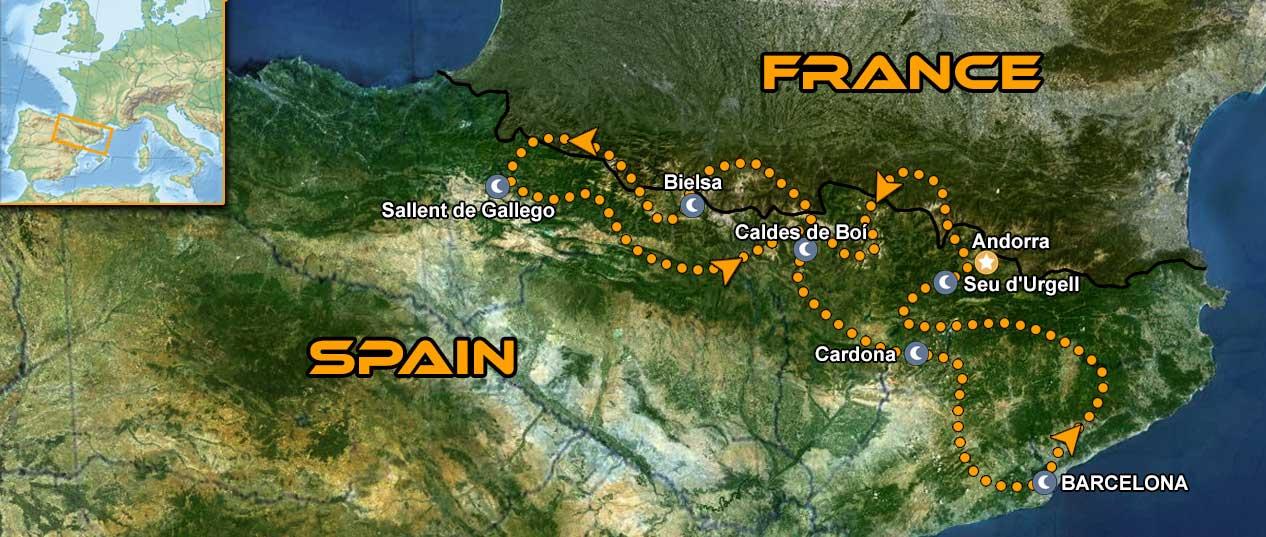 IMTBIKE Motorradreise MotoGP Katalunien & Pyrenäen
