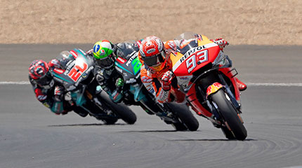 Motorcycle Spain MotoGP Tour