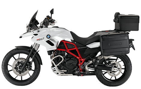 Rent the BMW F700GS from IMTBIKE