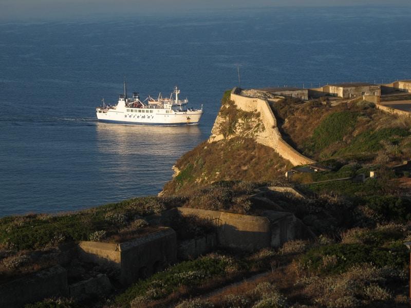 Su Gologone – Fähre nach Korsica - Bonifacio