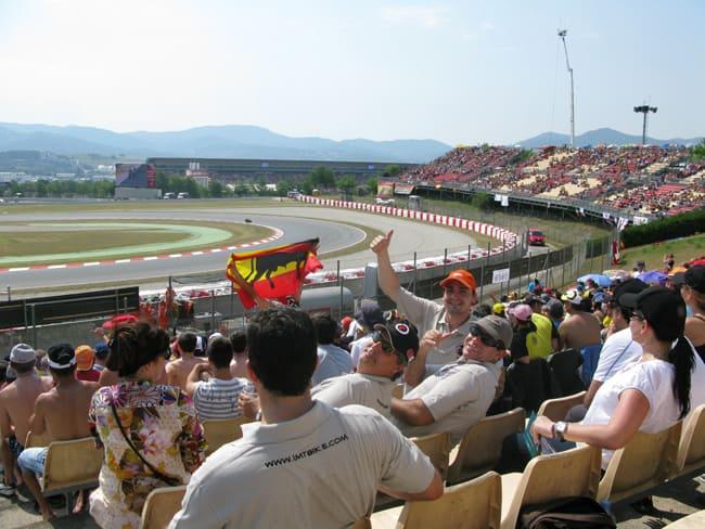 MotoGP Katalunien - Renntag