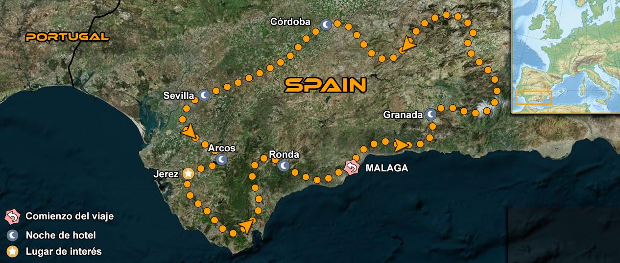 IMTBIKE Motorcycle tour Moto GP Jerez Andalucia
