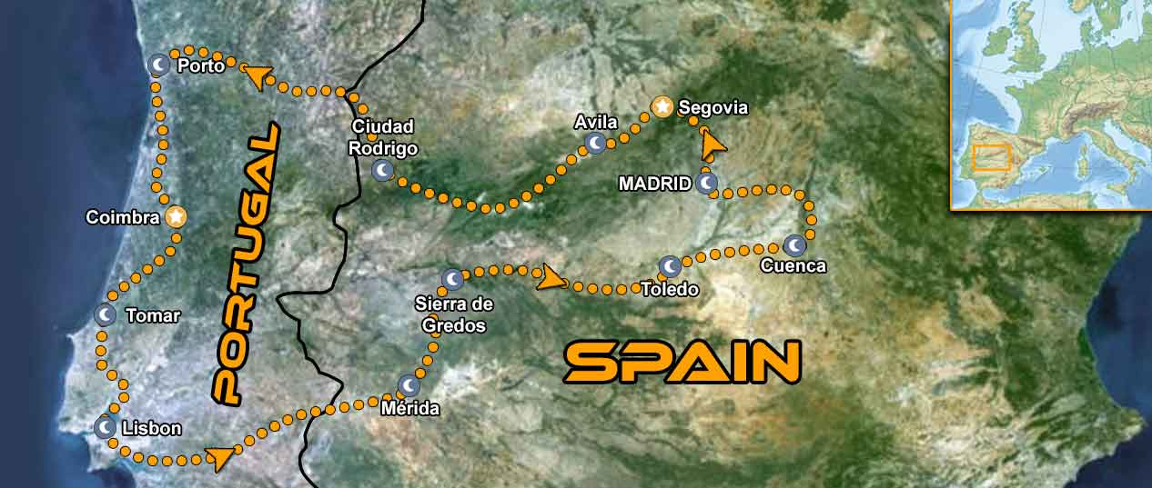 IMTBIKE Motorcycle tour Portugal Central Spain
