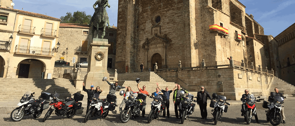 Motorcycle Tour Portugal Central Spain