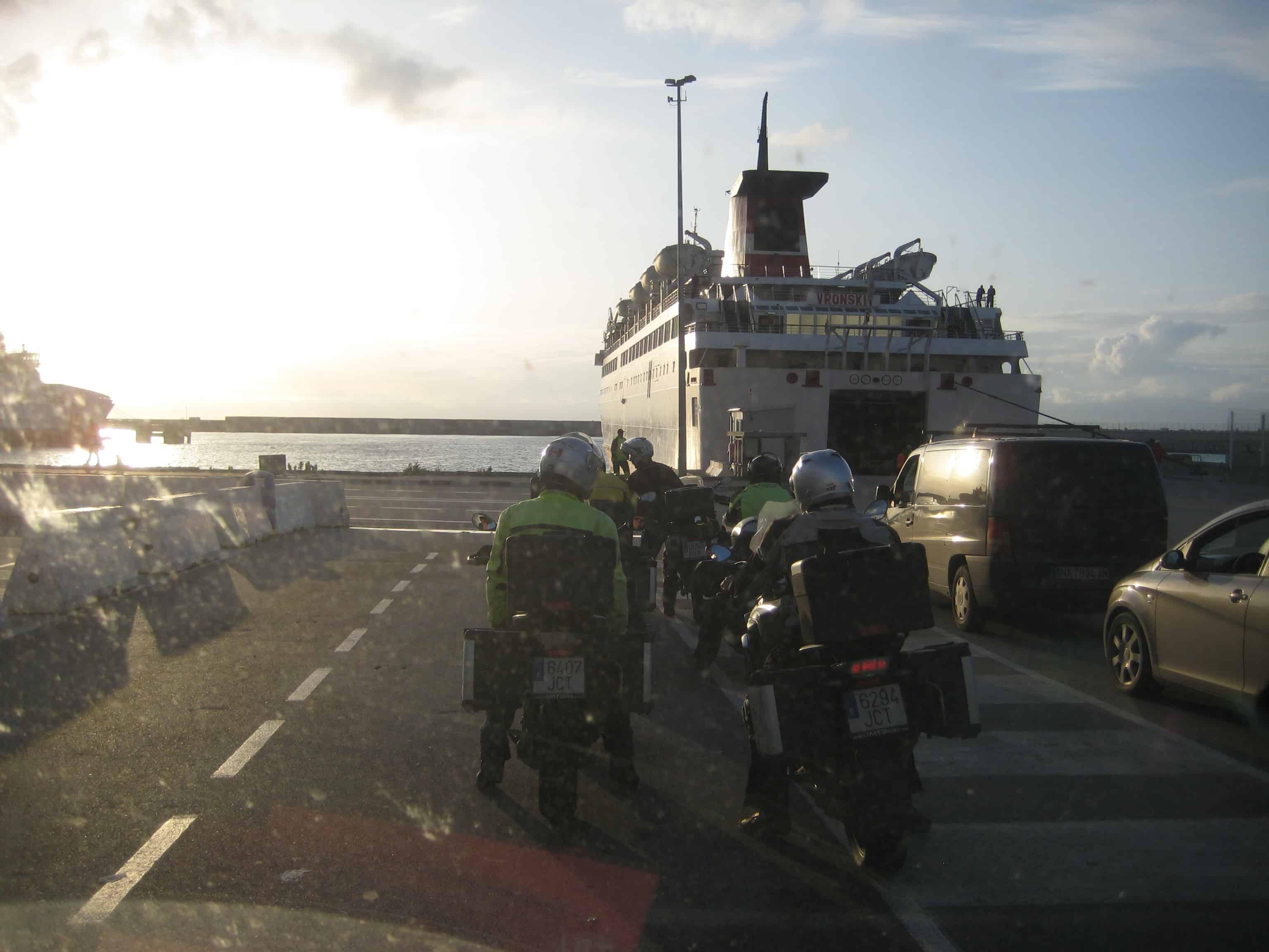Barcelona - ferry to Sardinia