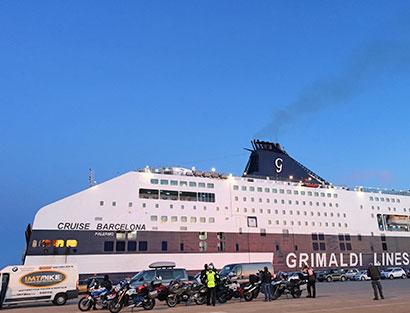 Porto Torres - Ferry até Barcelona e Jantar de Despedida