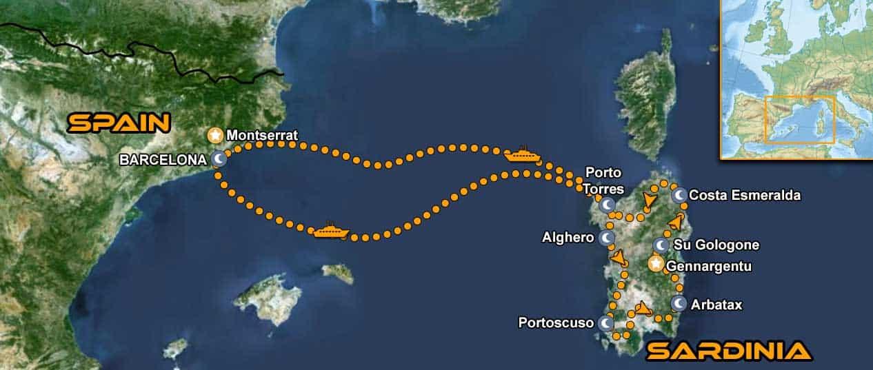 IMTBIKE Motorradreise Sardinien