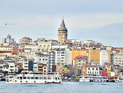 Chegada a Istambul e Jantar de boas vindas