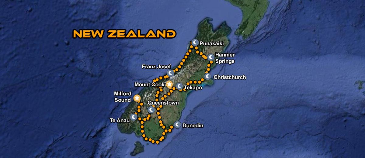 Motorcycle Tour New Zealand