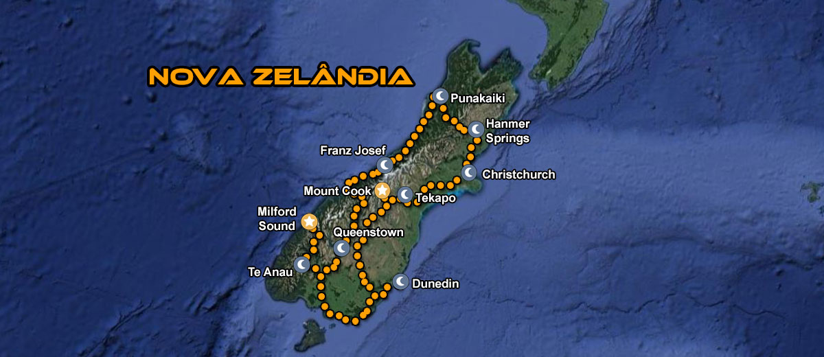 Motorcycle Tour New Zealand