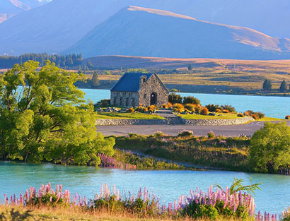 von Tekapo nach Christchurch