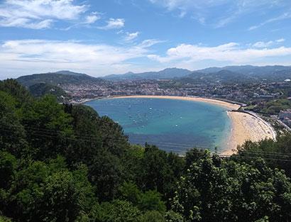 San Sebastián - freier tag