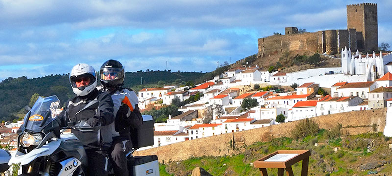Different Motorcycle routes in Portugal IMTBIKE